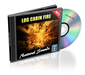 Now Age Books - SoundScapes Audio Tracks - Log Cabin Fire - nowagebooks.com
